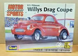 Pittman 1941 Willy S Gasser 1 43rd Scale Slot Car Decals Nhra Drag K S