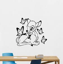 Bambi Deer Wall Decal Disney Vinyl Sticker Nursery Decor Baby Poster Art 192hor Ebay