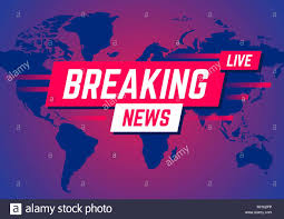 breaking news live on world map ...