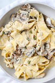 Chicken Mushroom Fettuccine Alfredo ...