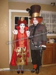 coolest diy alice in wonderland couple