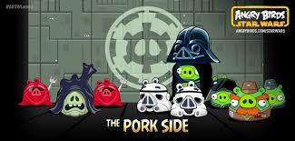 Angry Birds Star Wars produced by the Pork Side