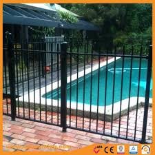 China Galvanized Powder Coated Iron Pool Fence Panels Photos Pictures Made In China Com