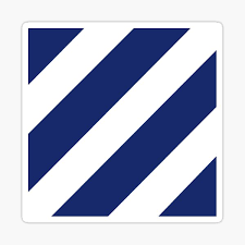Third Infantry Division 3id Insignia Sticker By Spacestuffplus Redbubble