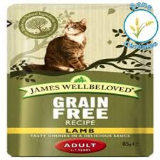 Avis James Wellbeloved adult Cat Dinde Grain Free Morceaux En Sauce pâtée  chat