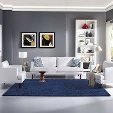 modern urban living area rug runner