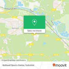 how to get to rothwell sports centre in