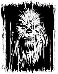 Black Chewbacca Wall Stickers Movie Star Wars Wall Decal Anime Posters Wallpaper Wall Art Home Decoration For Star Wars Wall Decal Wall Wallpaper Wall Stickers