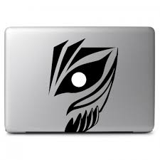 Bleach Kuroski Lchigo Face Apple Macbook Air Pro 11 13 15 17 Vinyl Decal Sticker Dreamy Jumpers