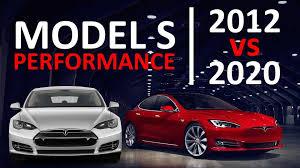 2012 Tesla Model S Vs. 2020 Model S ...
