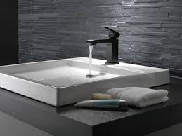 black into your bathroom design