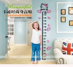 Hellokitty Height Measure Wall Sticker Kids Wall Stickers Cute Kids Room Decorations Simple Home Decor Wall Stickers Aliexpress