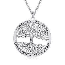 medallion pendant necklace 925 sterling