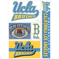 Ucla Bruins Decals 5ct Party City