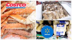 SEAFOOD AT COSTCO & WALMART ...