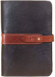mens womens leather portfolio