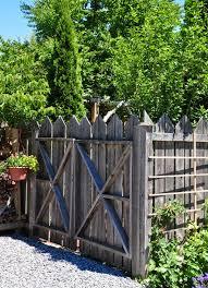 Three Dogs In A Garden Fancy Fence Work