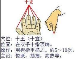 按压十宣穴发烧搓哪个部位退烧快推拿手法图_第3页_疾病护理_bb2020手机版