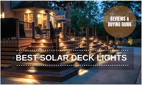 The 7 Best Solar Deck Lights Reviews And Buying Guide