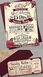 Invitacion Floral Moderna Invitacion De Fiesta Invitaciones De