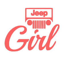 Jeep Girl Decal Jeep Girl Sticker Car Decal Car Sticker Etsy