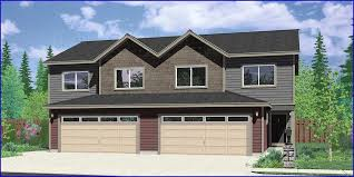 duplex house garage house plans