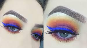 sunset eye makeup tutorial you
