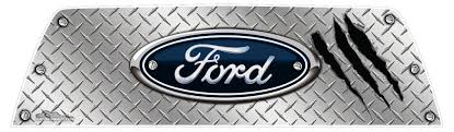 Ford Back Window Graphics Rear Window Graphics