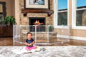 fireplace baby gate proof ping all