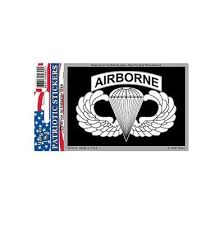 Us Army Airborne Para Full Color Window Decal Sticker Licensed Custom Sticker Shop