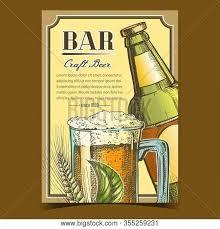bar craft beer vector photo free