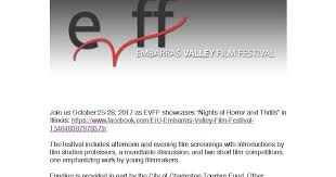 Ecocinema, Media, and the Environment: Embarras Valley Film Festival  Student Film Contest Selections