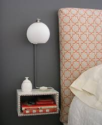 how to build a floating nightstand that