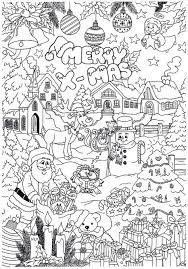 Leuke Kerst Kleurplaat Kerstmis Kleuren Kerstmis Knutselen