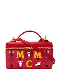 mcm lunchbox tote bag ss20 farfetch com