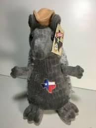 armadillo texas state plush cowboy hat