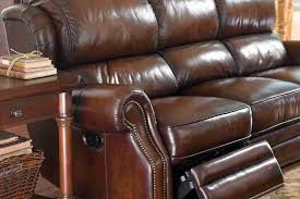 how to clean leather sofa