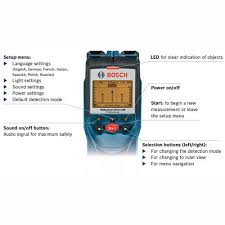 bosch dtect 150 professional wall
