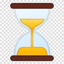 emoji computer icons hourglass clock