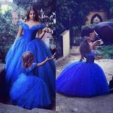 royal blue cinderella dress ball gown