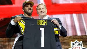 Devin Bush landing with the Steelers ...
