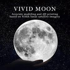 3d Print Moon Lamp Cozy Nursery