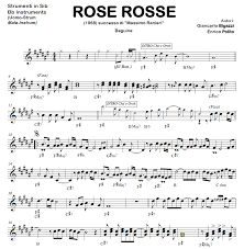 ROSE ROSSE (Uomo-Strum) beguine – Basi Audio Fisarmonica