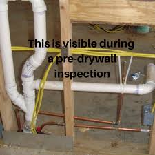 what s a pre drywall inspection