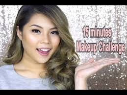 15 minutes makeup challenge indonesia
