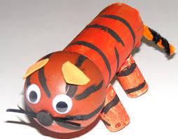 Image result for junk modelling tiger