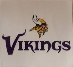 Football Nfl Minnesota Vikings Static Cling Nfl Window Decal Car Sticker Made Usa Lic Rico Sports Mem Cards Fan Shop Cub Co Jp