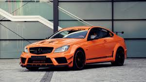 c63 amg mercedes benz orange color