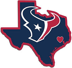 Amazon Com Nfl Siskiyou Sports Fan Shop Houston Texans Home State Decal One Size Team Color Sports Outdoors