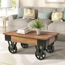 bend pitara wheel coffee table